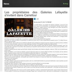 Prise de participation dans Carrefour