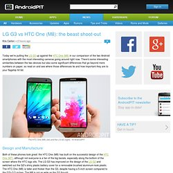 LG G3 vs HTC One (M8): the beast shoot-out