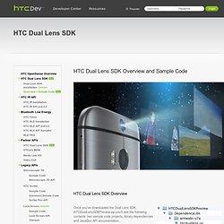 HTC Dual Lens SDK
