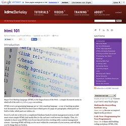 HTML 101