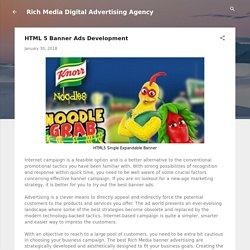 HTML 5 Banner Ads Development