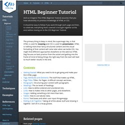 html tutor