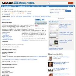 HTML-Kit 292 Profile