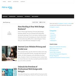 Psd to Html Tips, Tutorials and Resources