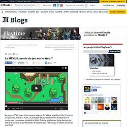 Le HTML5, avenir du jeu sur le Web ?
