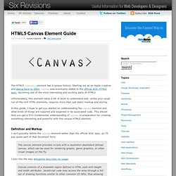 HTML5 Canvas Element Guide