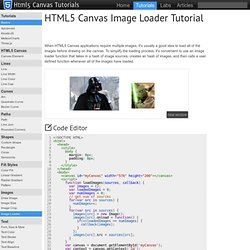 HTML5 Canvas Image Loader Tutorial