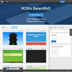 HTML5, CSS3, JS Demos, Creations and Experiments