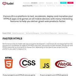 HTML5 deployment platform