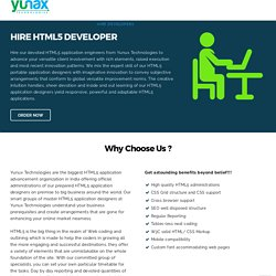 Hire HTML5 Developers, HTML5 Expert Coders, Full Time Developers