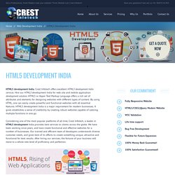 HTML5 Development India