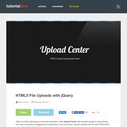 HTML5 File Upload with jQuery***