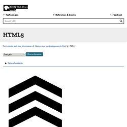HTML5 - Guides pour développeurs Web