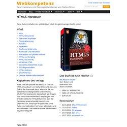 HTML5-Handbuch - Webkompetenz