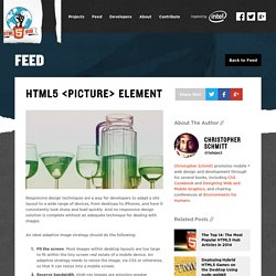 HTML5 <picture> Element