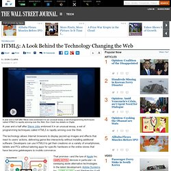 HTML5: The Technology Changing the Web