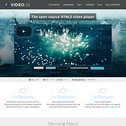 Javascript pearltrees for Html5 video player template