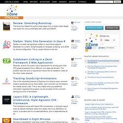 HTML5 Microzone