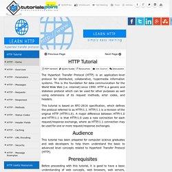 HTTP Tutorial