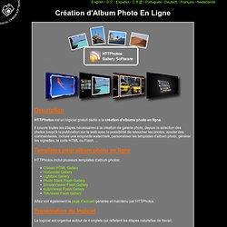 HTTPhotos: Album Photo En Ligne