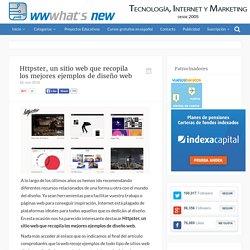Httpster, un sitio web que recopila los mejores ejemplos de diseño web