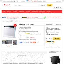 Huawei B593 LTE TDD Mobile Wireless Router Unlocked