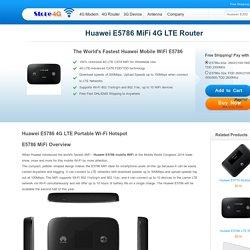 Huawei Mobile WiFi E5786 Modem