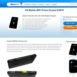 Unlocked Huawei Mobile WiFi E5878 Buy at Store4G