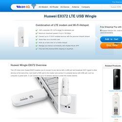 Huawei 4G LTE Wingle E8372