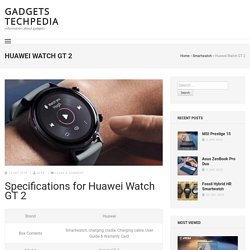 Huawei Watch GT 2 Overview, Features, Specs, Price in Nepal