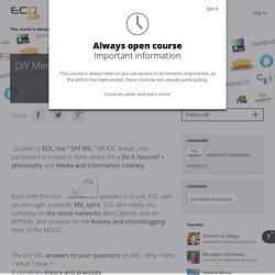 MOOC DIY Education aux médias et à l'information