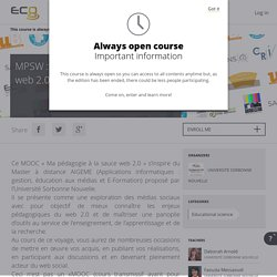 MOOC Pédagogie sauce 2.0