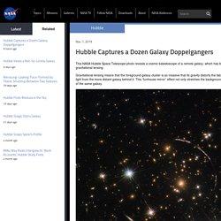 Hubble Captures a Dozen Galaxy Doppelgangers