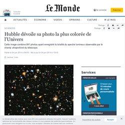 Hubble dévoile sa photo la plus colorée de l'Univers