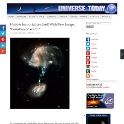 "Hubble Immortalizes Itself With New Image: ""Fountain of Youth"""