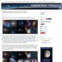 Hubble's Hidden Treasures Unveiled