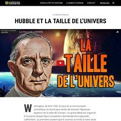 Hubble et la taille de l'univers