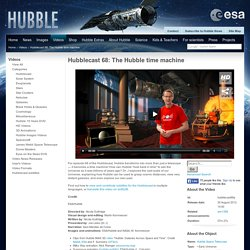 Hubblecast 68: The Hubble time machine