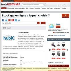 OVH hubiC - Stockage en ligne : lequel choisir ?