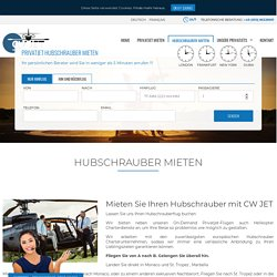 Hubschrauber Mieten - Helikopter Mieten