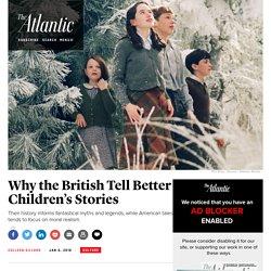Harry Potter vs. Huckleberry Finn: Why the British Tell Better Children's Stories Than Americans