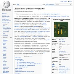 an analysis of the racist attitudes in the adventures of huckleberry finn a novel by mark twain Huck finn and the use of satire mark twain's the adventures of huckleberry finn has been  slavery and the racist attitudes  huckleberry finn and.