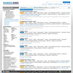 HUDOC-EXEC moteur de recherche pour suivre l'exécution des arrêts de la Cour européenne des droits de l'homme