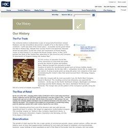 Hudson's Bay Company - Our History