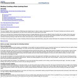 Hudson's Guide: FTM Binding