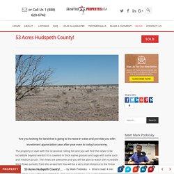 53 Acres Hudspeth County! - Frontier Properties USA
