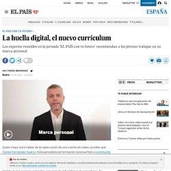 La huella digital, el nuevo currículum