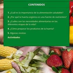 Huerta y alimentación saludable