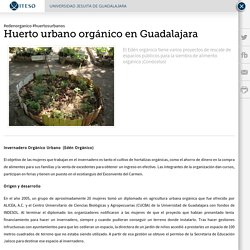 ITESO - Huerto urbano orgánico en Guadalajara