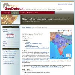 Steve Huffman Language Maps